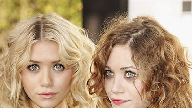 Tabloid favourites ... Elizabeth's sisters Mary Kate and Ashley Olsen.