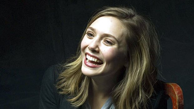 Treading with care ... Elizabeth Olsen has made her movie debut.