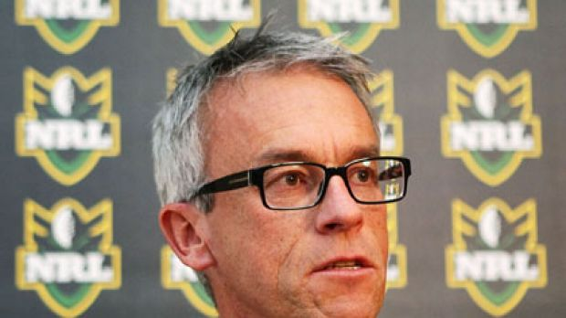 """""""Gambling on sport is as old as sport itself"""" ... NRL chief executive David Gallop."""
