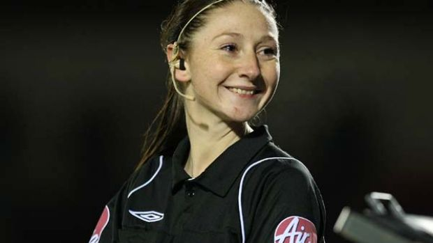 Assistant referee Sian Massey.