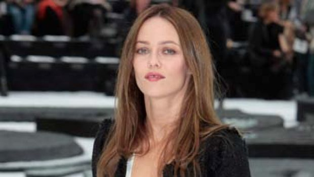 French singer and actress Vanessa Paradis.