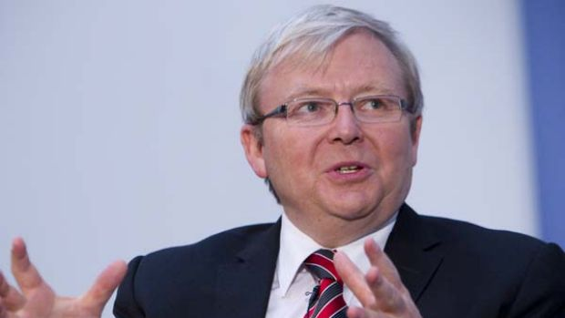 Kevin Rudd ... deposed as Prime Minister.
