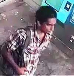 The man wanted over the North Melbourne sex attack.
