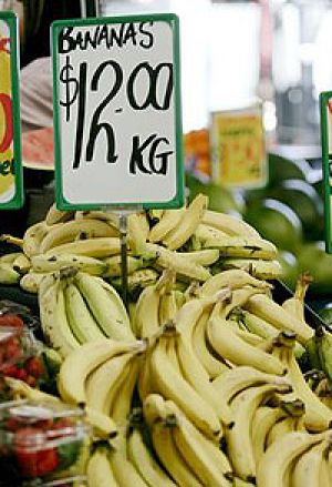 Expect a return to post-cyclone Larry banana prices in the weeks after cyclone Yasi hits.
