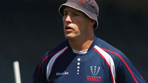 New skipper . . . Stirling Mortlock of the Rebels.