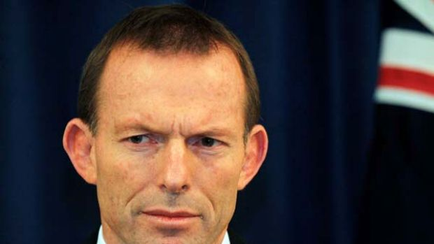 """Tony Abbott ... accused of """"releasing the dogs""""."""