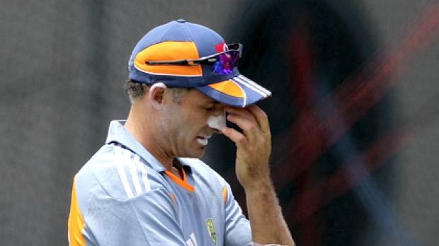 Mike Hussey's one-day career may have come to a premature end.