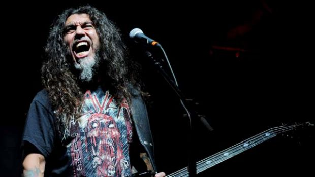 The monsters of rock prepare to make some noise: Slayer are on the Soundwave tour.