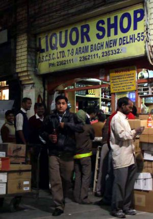 India is the world's fastest-growing alcohol market.