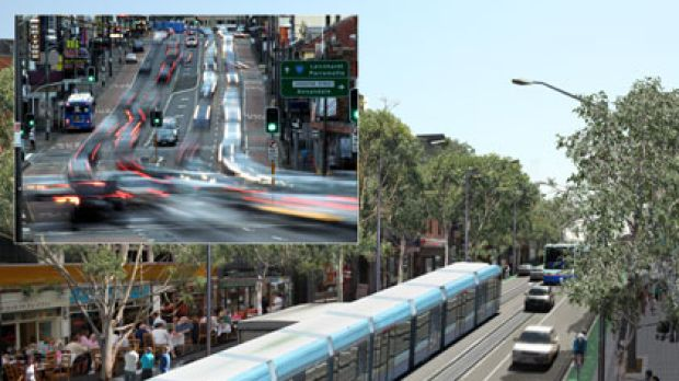 Parramatta Road, now and then ... the proposal for the transformation of Parramatta Road is based on building the M4 ...