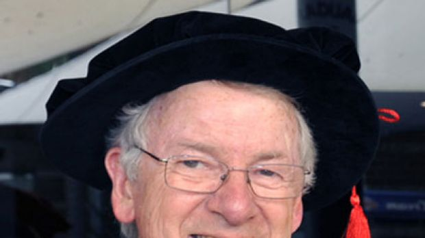 Honour ... Leon Kane-Maguire was made an emeritus professor in 2010.