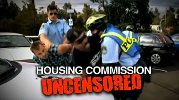 A promo for <i>Housos</i> from the Ninemsn website.