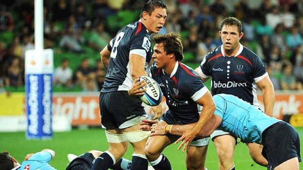 Ideas lacked execution . . . the Melbourne Rebels had a disappointing debut against the Waratahs.