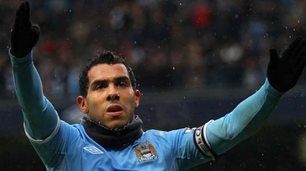 Carlos Tevez ... Manchester City are over-reliant on the striker.