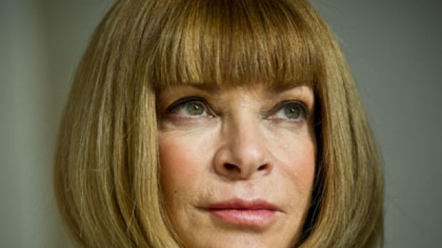 Anna Wintour ... hit out at the Syrian regime.
