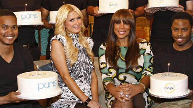 Takes the cake ... TV presenter Wendy Williams over-compensates for Paris's birthday burglary.