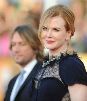 Keith Urban and Nicole Kidman arrive at the Screen Actors Guild Awards last month.