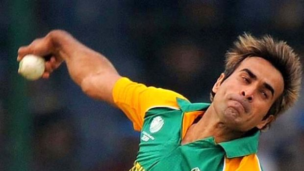 Imran Tahir took four wickets on debut for South Africa.