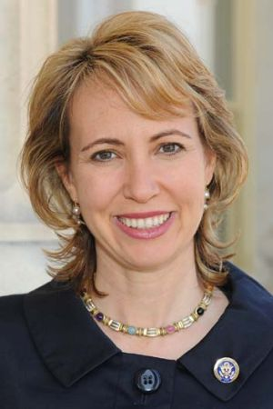Gabrielle Giffords . . . responding well to music therapy.