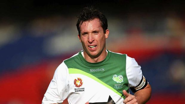 Glory days ... English football legend Robbie Fowler was the marquee signing for the North Queensland Fury in their ...