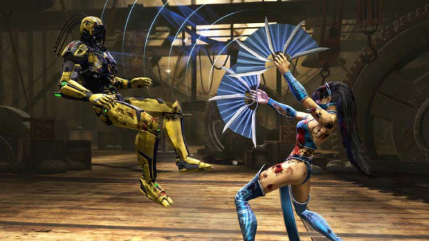 Another scene from Mortal Kombat.