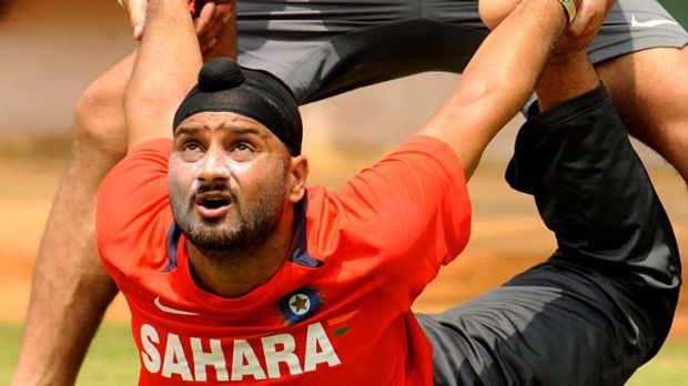 Local hero . . . Harbhajan Singh hails from the Punjab province.