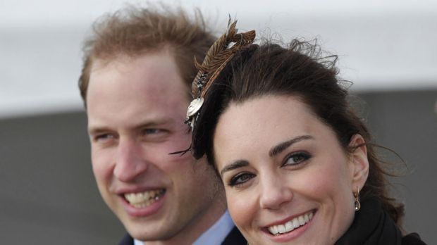 Prince William and Kate Middleton.