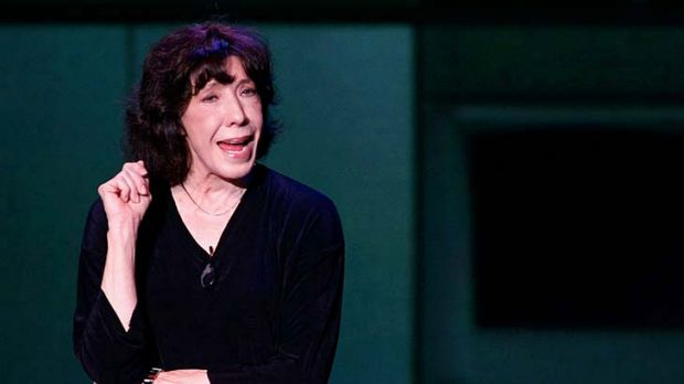 Comedian Lily Tomlin's live performance has lost nothing with age.