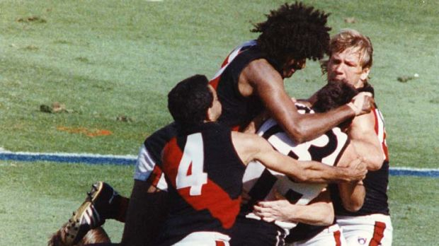 The last time Essendon played Collingwood in a grand final - 1990.
