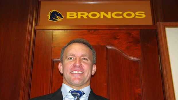Brisbane Broncos CEO Paul White.