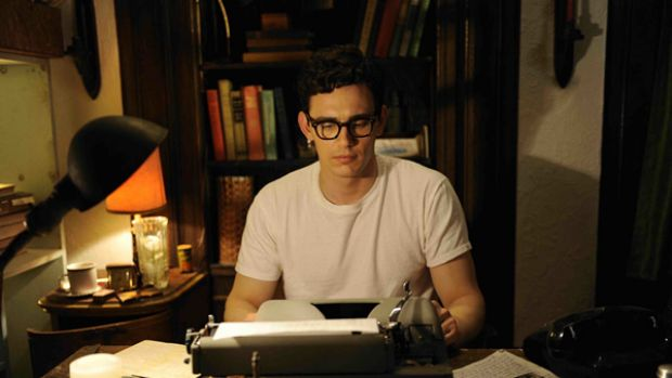 Now, where was I?: Allen Ginsberg (James Franco) gets to work on his controvesial poem in Howl.