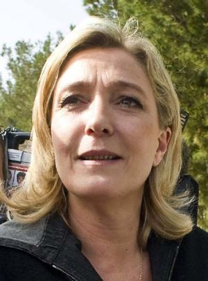 """Marine Le Pen ...  """"We are going to see a real catastrophe."""""""