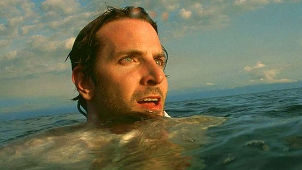 Hold the laughter ... Bradley Cooper takes a dramatic turn in Limitless.
