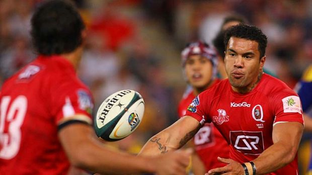 Queensland Reds take on Super 15's new boys the Melbourne Rebels at Suncorp.