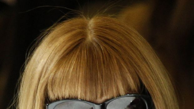 Shades of the devil? ... US Vogue editor Anna Wintour.