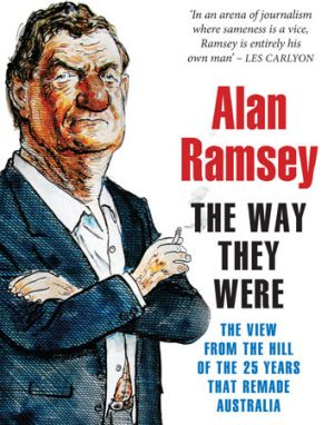 """Good, interesting stories"" ... Alan Ramsey's collection."
