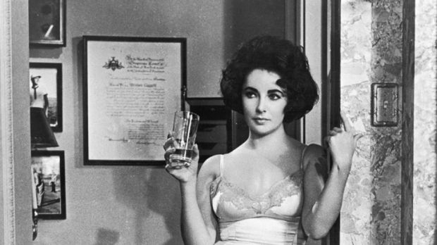The slip dress ... Elizabeth Taylor sexed up the slip in Butterfield 8.