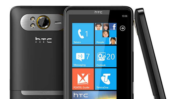 HTC's new HD7 will go on sale at Telstra stores from March 29.