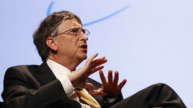 Bill Gates speaks at the Foundation for the National Institutes of Health (NIH) 2010 mHealth Summit in Washington ...