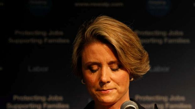 Kristina Keneally concedes defeat.