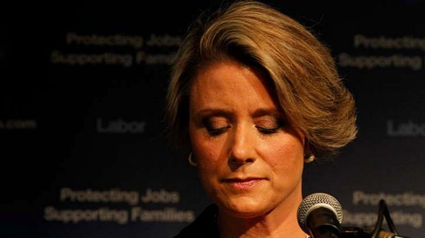 Kristina Keneally concedes and announces her decision to step down as Labor leader.