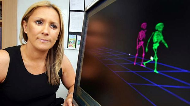 Clinical psychologist Nicole Rinehart is studying the walking styles of people with autism and Asperger's.
