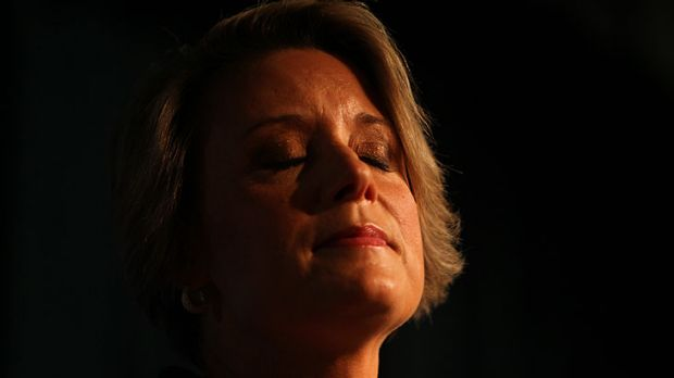 Kristina Keneally conceding defeat.