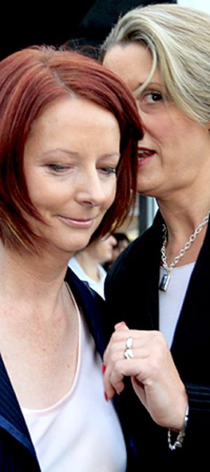 The NSW Right no longer has Gillard's undivided attention.