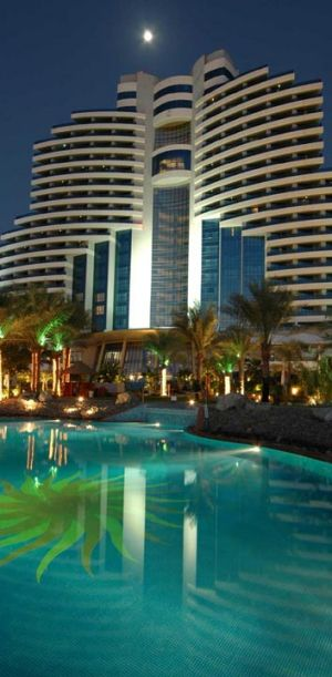 Le Meridien Al Aqah Beach Resort in Fujairah.
