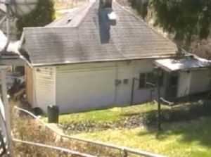 A man was found fused to a chair at this Ohio house.