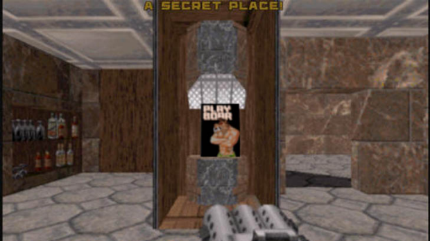 Not many people know about Duke Nukem's preferred reading material.