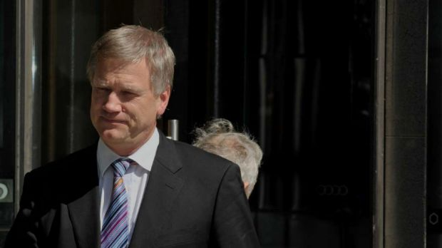 Andrew Bolt at the  Australian Federal Court.