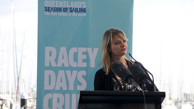 Jessica Watson...her round-the-world sailing journey is the ultimate example of personal empowerment.