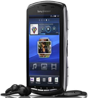 The Sony Xperia Play.